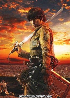 haruma large Live action Attack On Titan tung trailer mới!