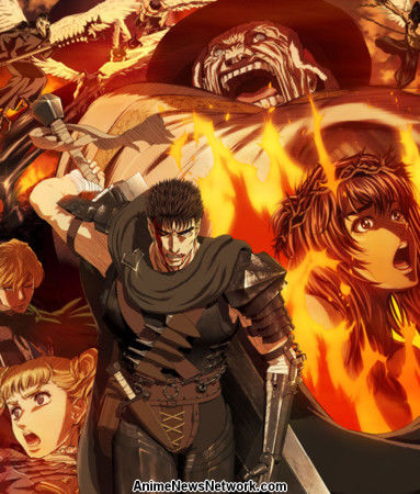 Image result for Berserk Anime