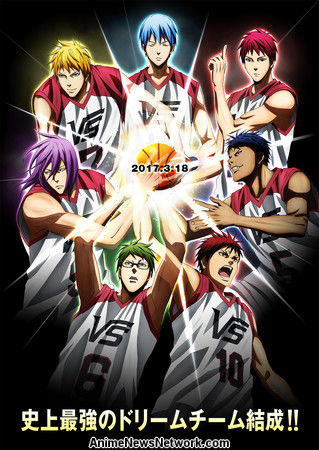 Poster Kuroko no Basket: Last Game