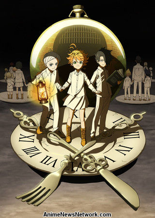 Image result for the promised neverland anime