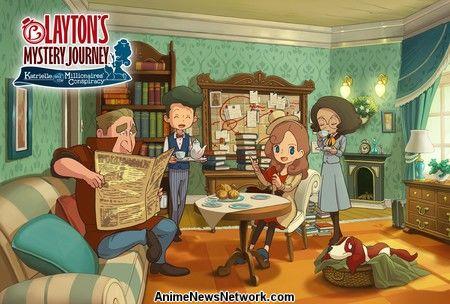 El distribuidor de Singapur enumera la serie animada 'Lady Layton Myst