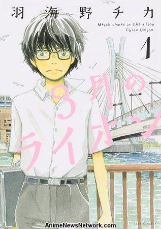 Marzo llega como un león. Las clasificaciones de la revista Manga Tops
