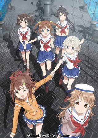 High School Fleet Anime Obtiene el juego de teléfonos inteligentes en