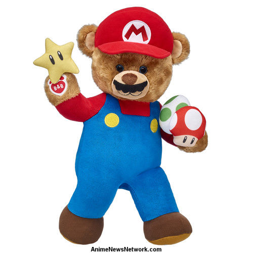 The Mushroom Kingdom Comes To Build A Bear Just In Time