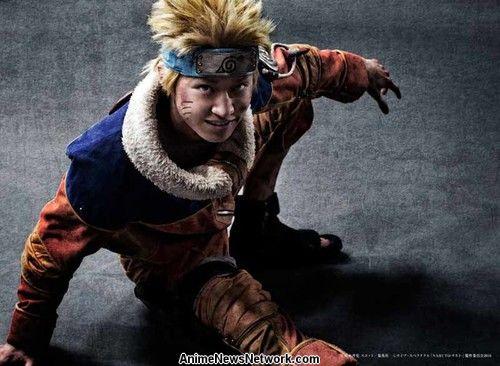 Kōdai Matsuoka als Naruto Uzumaki