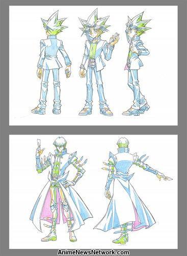 Yugioh Character Design : Shunsuke kazama kenjiro tsuda return for yu gi oh