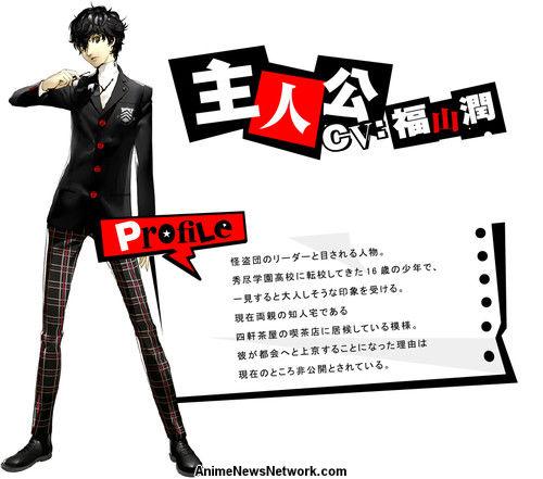 Джун Фукуяма, Persona 5