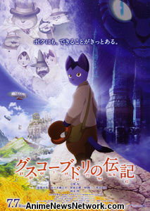 Licencias de Sentai Filmworks The Life of Budori Gusko Anime Film