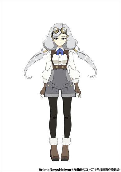 Anunciado anime Kouya no Kotobuki Hikoutai - Novo animes dos Criadores de Shirobako