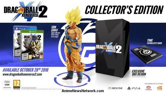 'Dragon Ball Xenoverse 2' (ALL) Collector's Edition & Season Pass Details - Trailer
