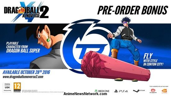 Bandai Namco reveals Goku Black in new Dragon Ball Xenoverse 2 trailer