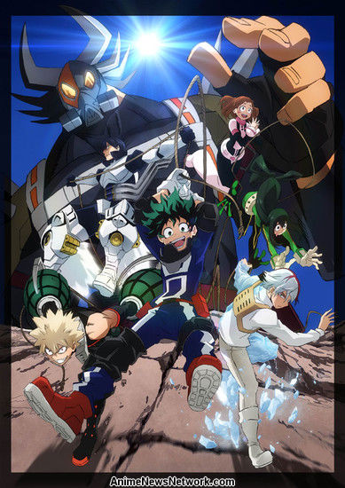 key visual anime my hero academia