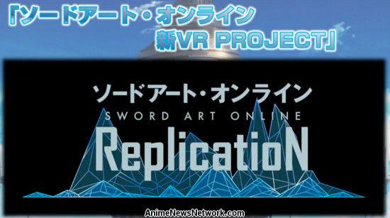 Bandai Namco Ent. Revela el arte de la espada en línea Replicación VR