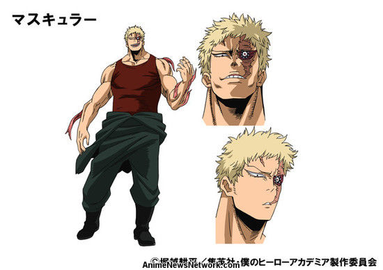Boku no hero academia season 3 new villains  - Muscular