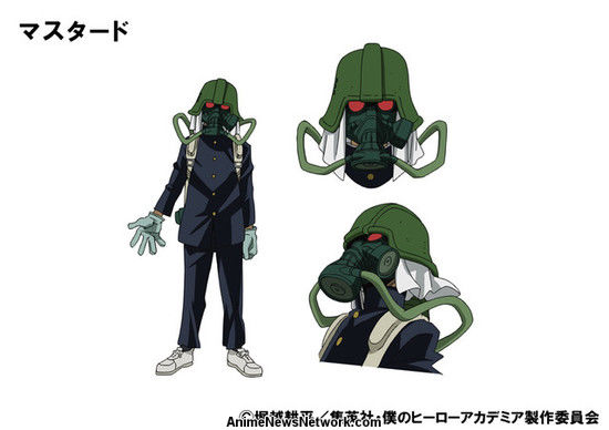 Boku no hero academia season 3 new villains  - Mustard