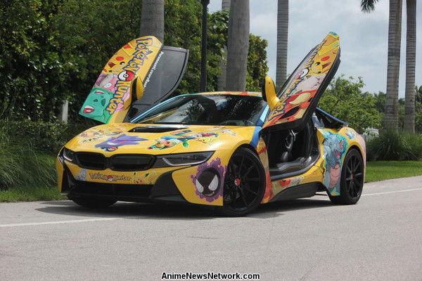 Auto pokemon