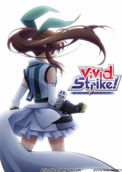 magical girl lyrical nanoha creator launches vivid strike  tv anime series in october  updated