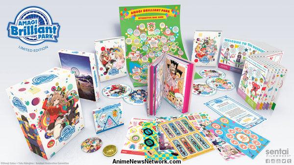 Sentai Filmworks Streams Amagi Brilliant Park English Dub