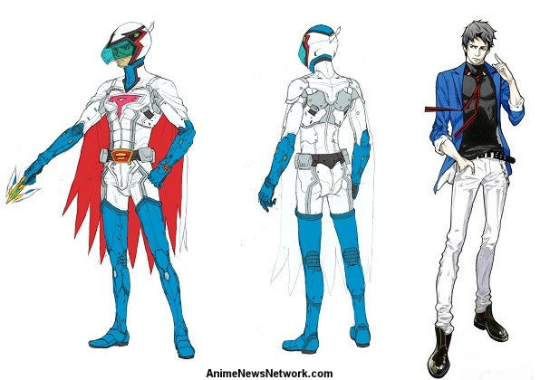 G Force Anime Characters : Tatsunoko s infini t force anime reveals character designs
