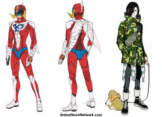 Character Design Wiki : Infini t force gatchaman wiki fandom powered by wikia