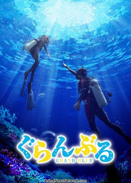grand blue dreaming anime reveals main cast  new visual - news