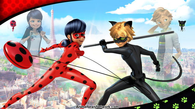 Nickelodeon Debuts Miraculous Tales Of Ladybug Cat Noir Brand New CGI Animated Action Series Sunday Dec 6