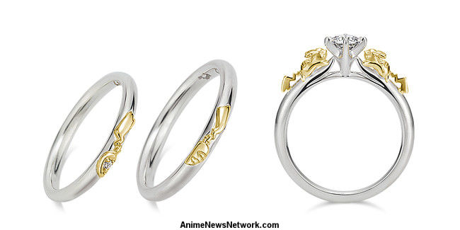 The Engagement Rings Come In Two Diffe Designs And Are Available 18 Karat White Gold Yellow