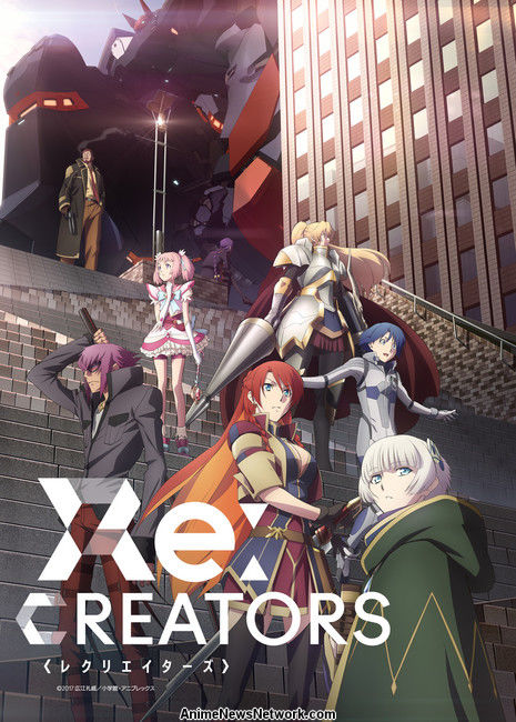 Image result for Re:Creators Anime Reveals New Key Visual