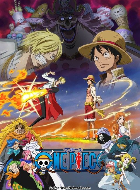 Cover One Piece Arc Whole Cake Island
