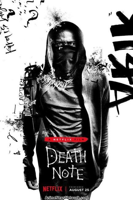 Cartel de luz de la película Death Note de Live-Action Revelado
