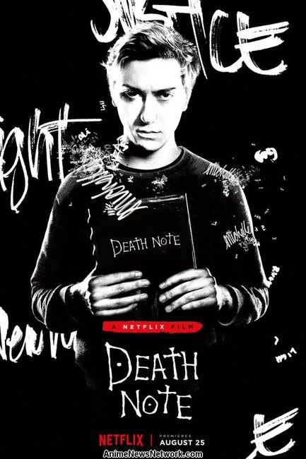poster light death note