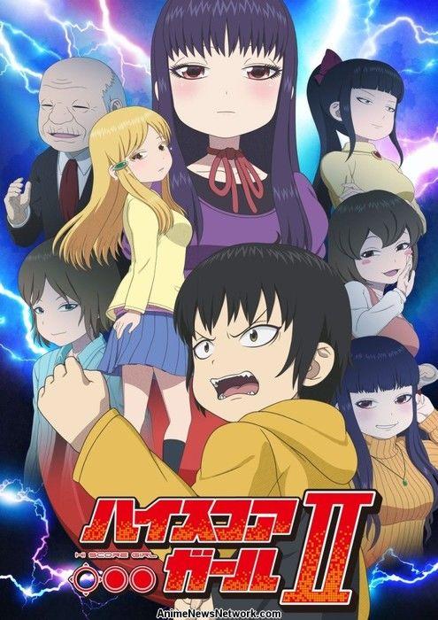 Anime 'Hi Score Girl' Mendapat Season Kedua Pada Bulan Oktober