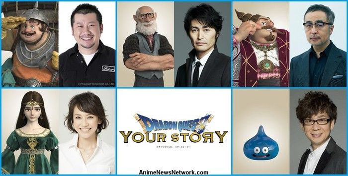 Dragon Quest Your Story Cg Anime Film Reveals 5 Character Roles News Anime News Network