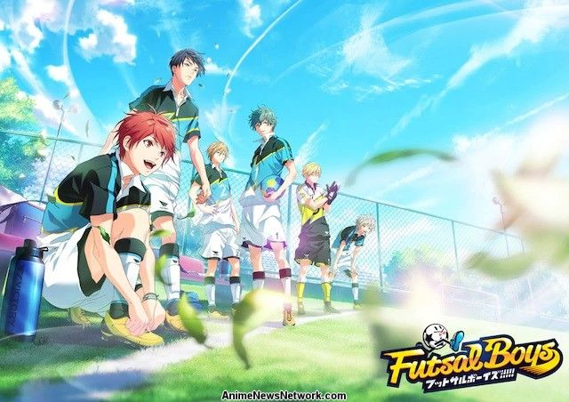 Bandai Namco, diomedéa Reveal Futsal Boys!!!!! Sports Project With ...