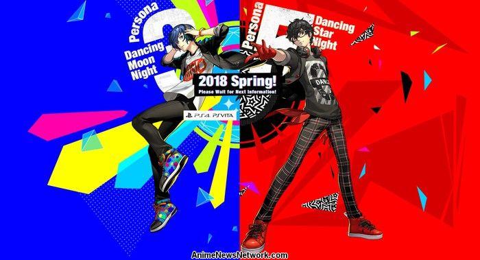 Atlus Desvela Persona 3, Persona 5 Juegos de Baile, Persona Q2