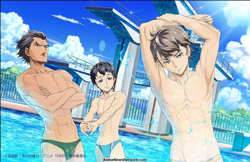Image result for dive!! anime