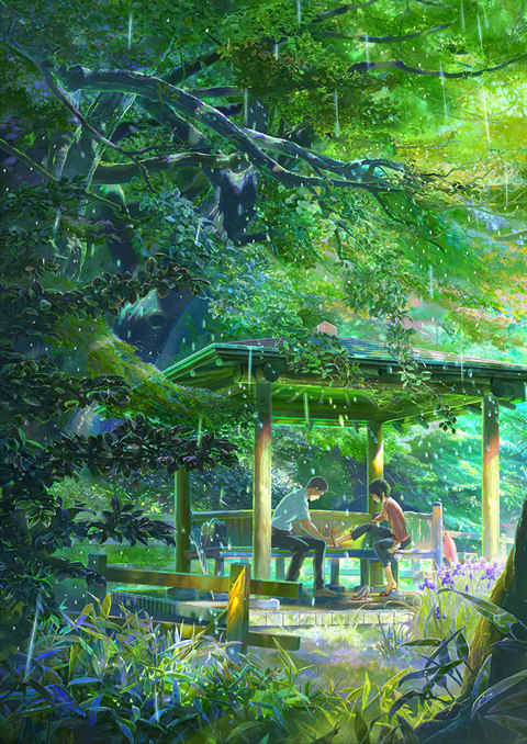 The Garden Of Words Movie Anime News Network