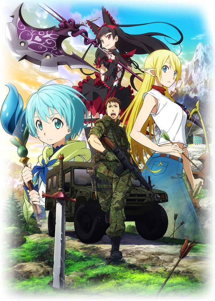 GATE (TV) - Anime News Network