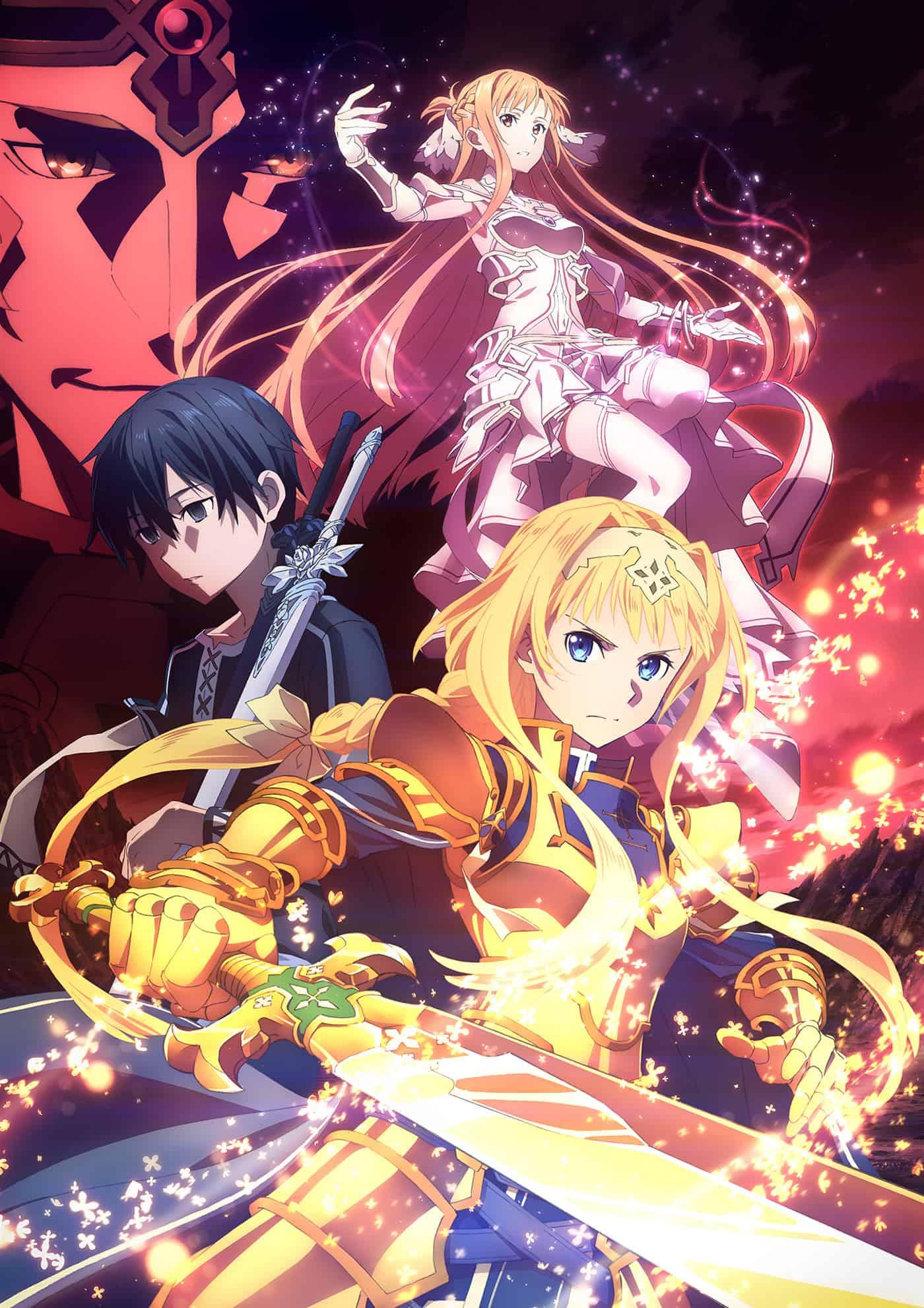 Sword Art Online Alicization War Of Underworld Tv Anime News Network