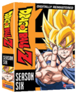 Dragon Ball Z DVD Season 6