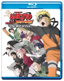 Naruto Shippūden: The Will of Fire Blu-Ray